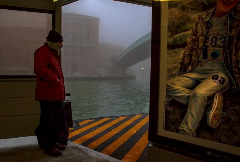 Venezia al vaporetto