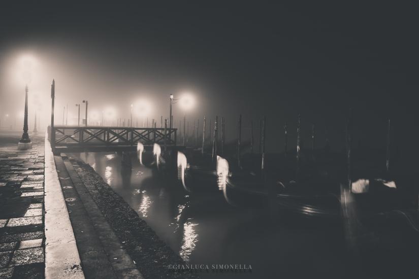 Venezia e la nebbia