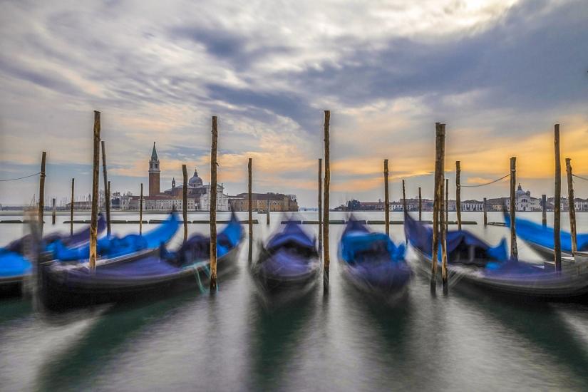 Venezia e le sue gondole