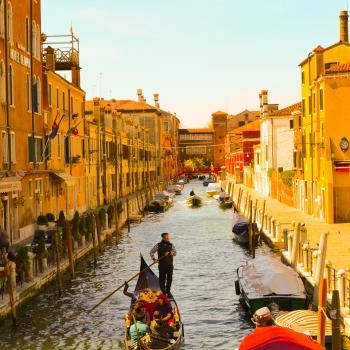 Venezia: gondoliere