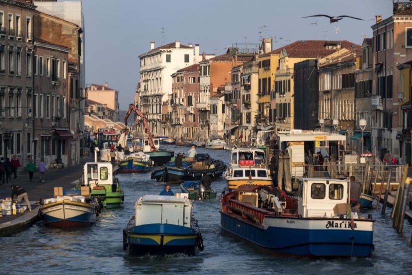 Venezia la malinconica e la caotica