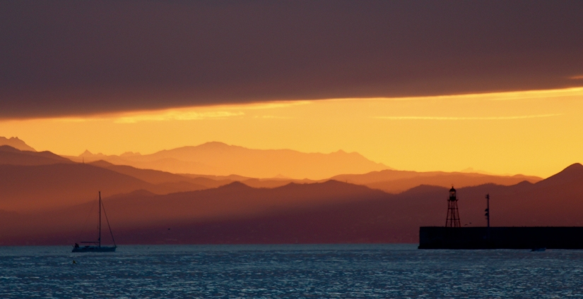Verso il tramonto