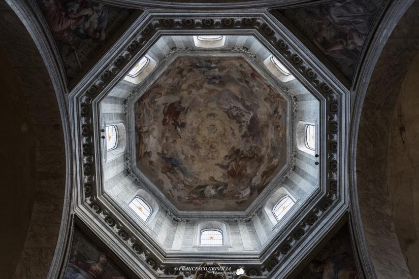 Verso l'alto della Basilica