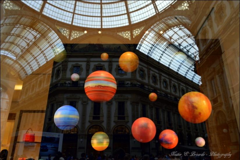 Vetrina in Galleria Vittorio Emanuelle