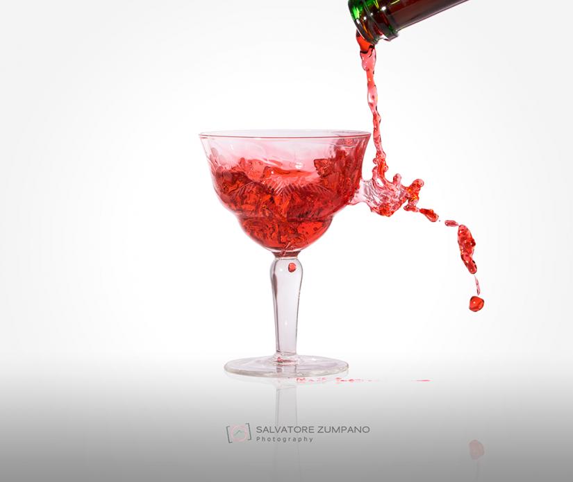 Vino versato male
