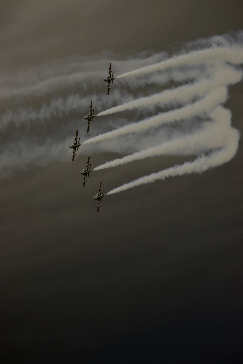 Virata stretta - Pattuglia Acrobatica Nazionale - Frecce Tricolori - Italia