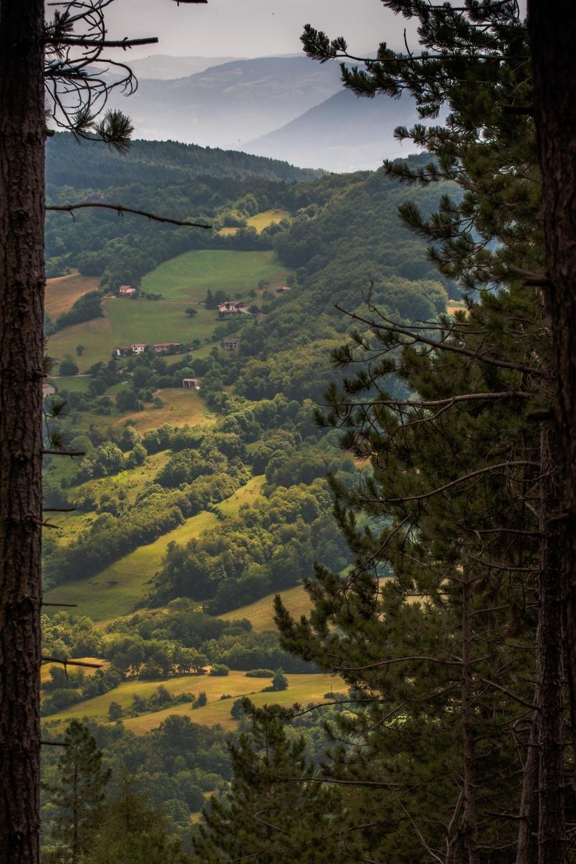 Vista dal Monte Alpe (Pv)