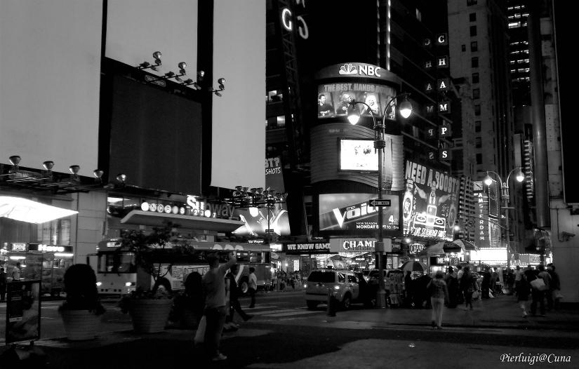 Vivere New York la notte...