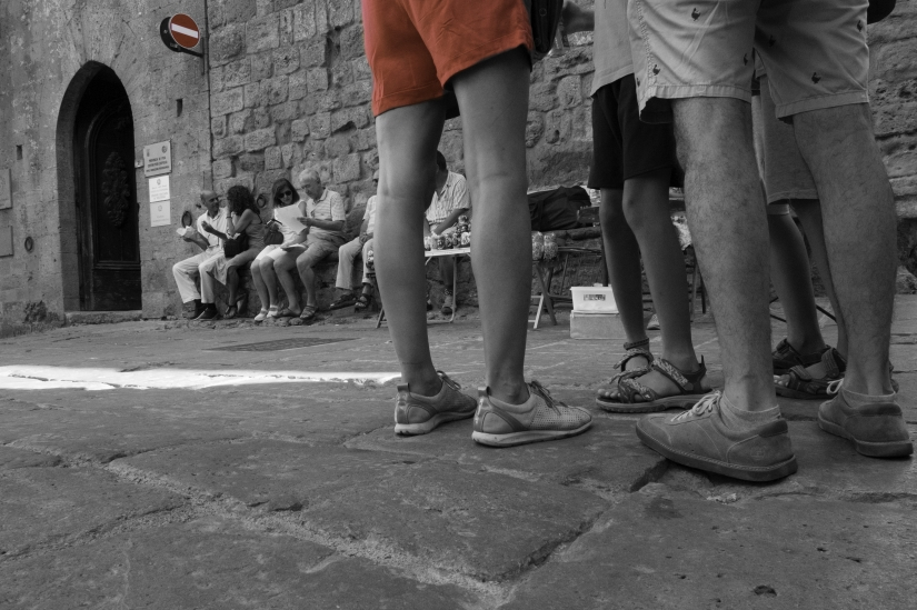 Volterra.....veduta dal basso