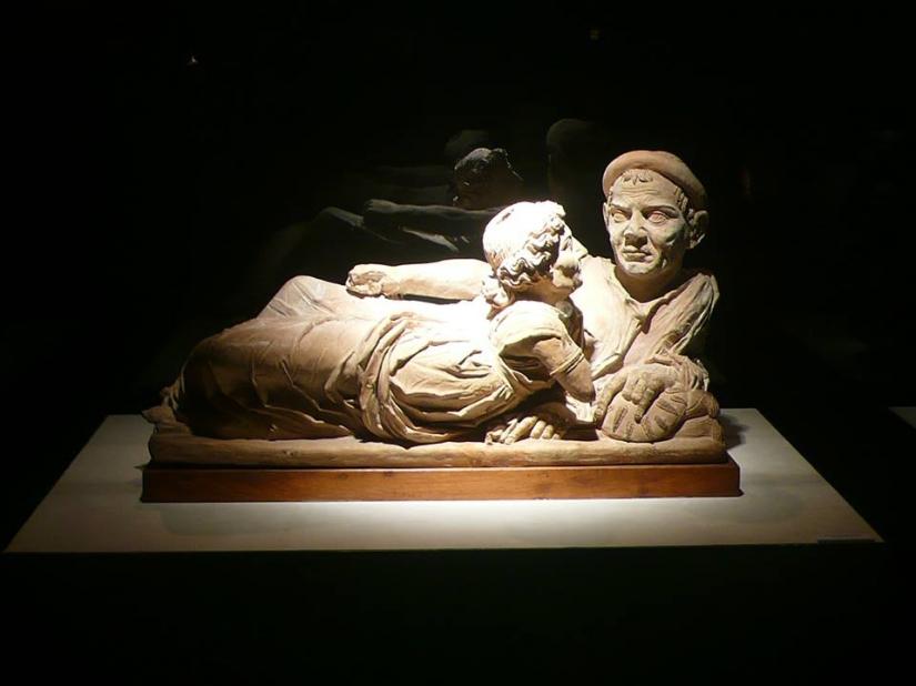 Volterra (Toscana) - Museo etrusco