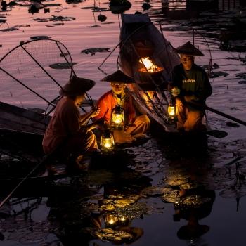 Waiting dawn - Inle Lake - Myanmar