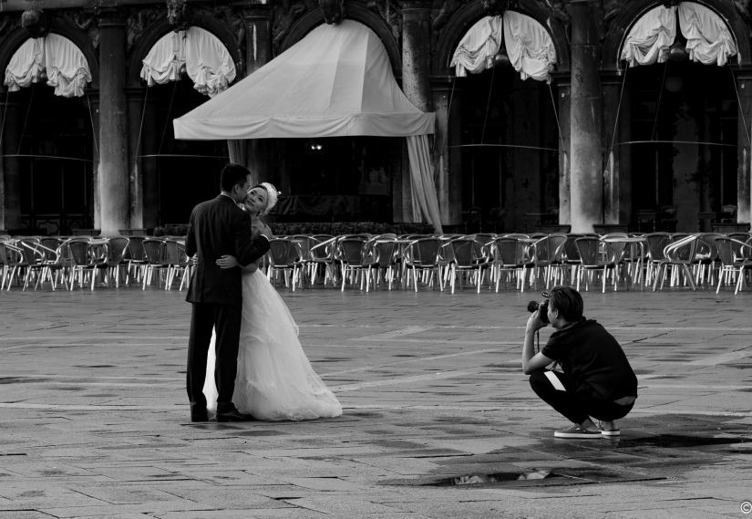 Wedding shot a Venezia