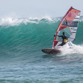Windsurf a Capo Mannu