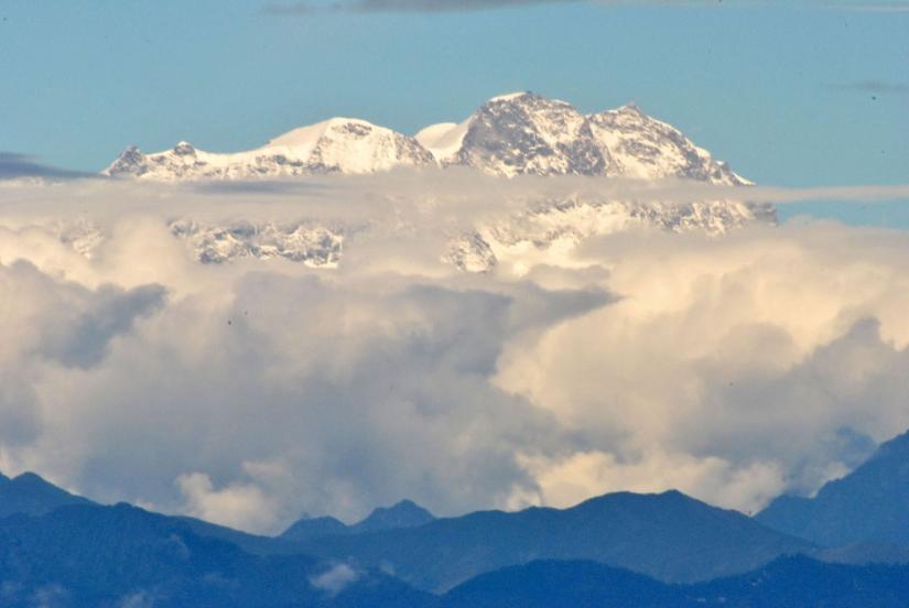 Zoom sul Monte Rosa